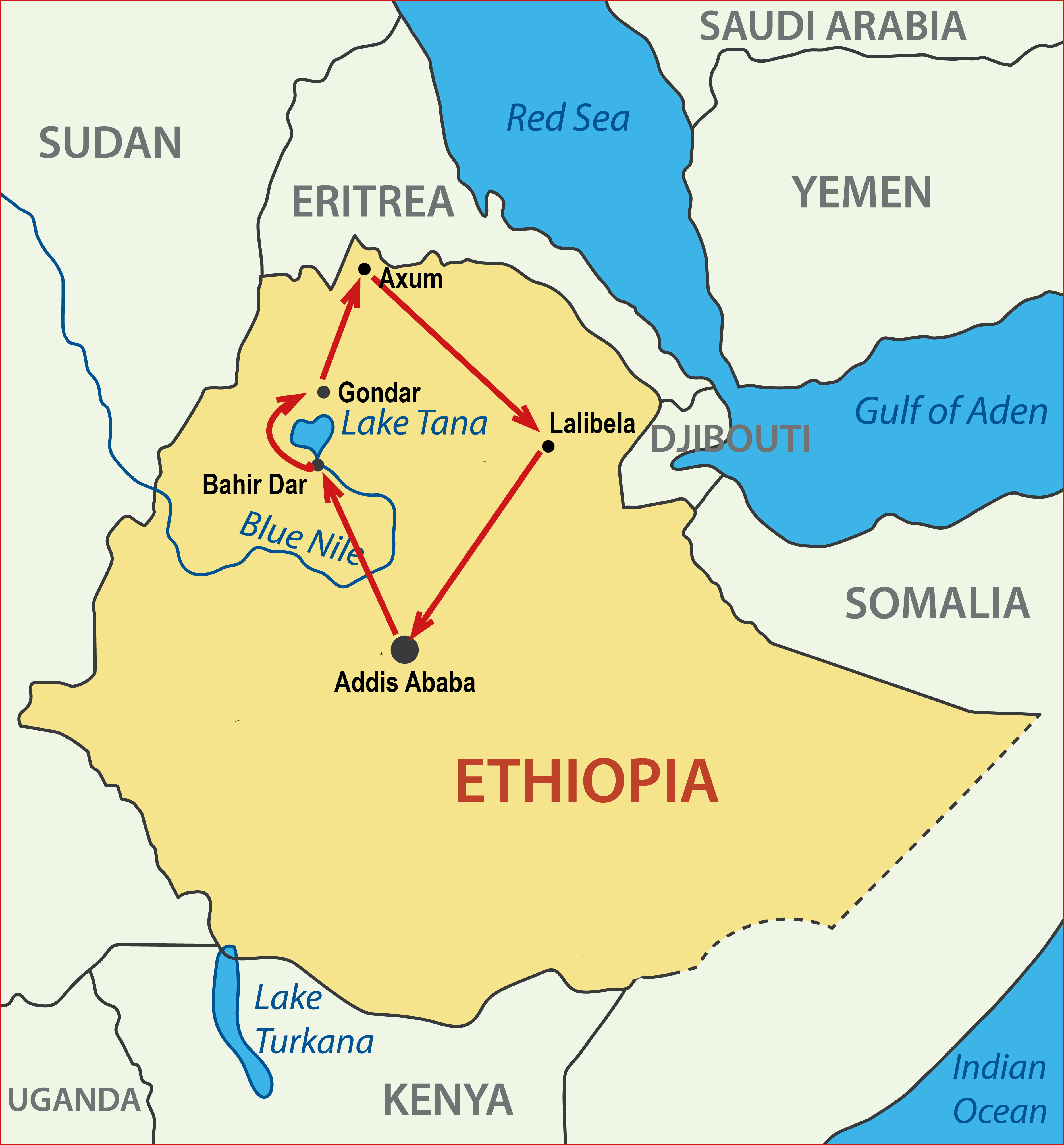 High and Far Ethiopia Tour and Travel